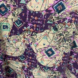 LulaRoe 3x Perfect T. Disney Princesses. EUC